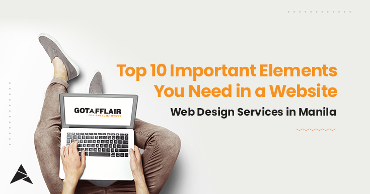 Top 10 Important Elements You Need in a Website