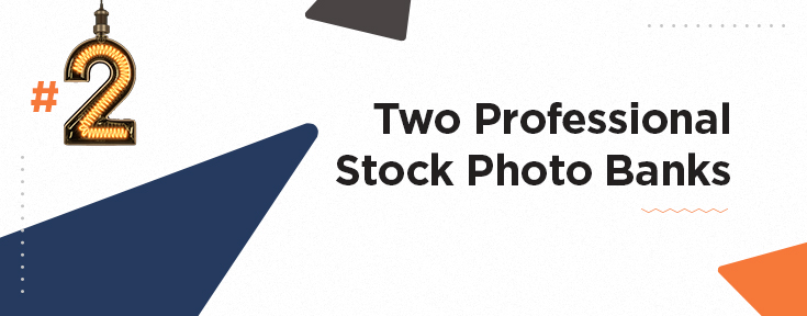 Two Professional Stock Photo Banks