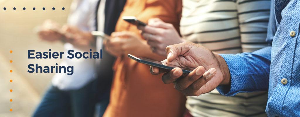Easier Social Sharing