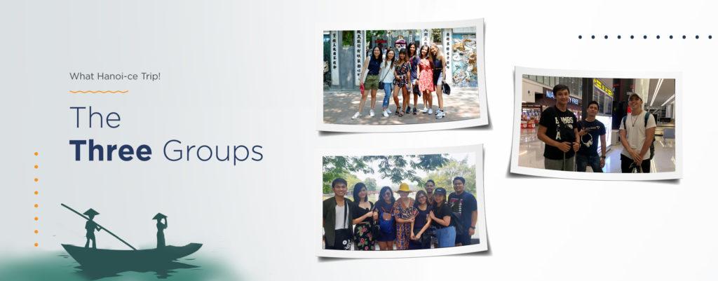 The Three Groups