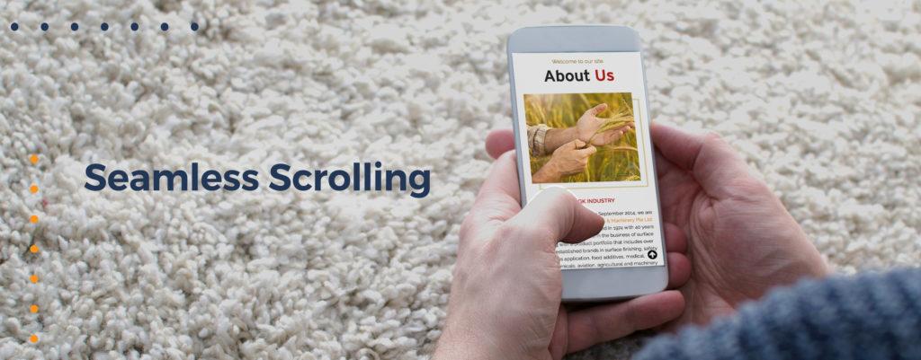 Seamless Scrolling