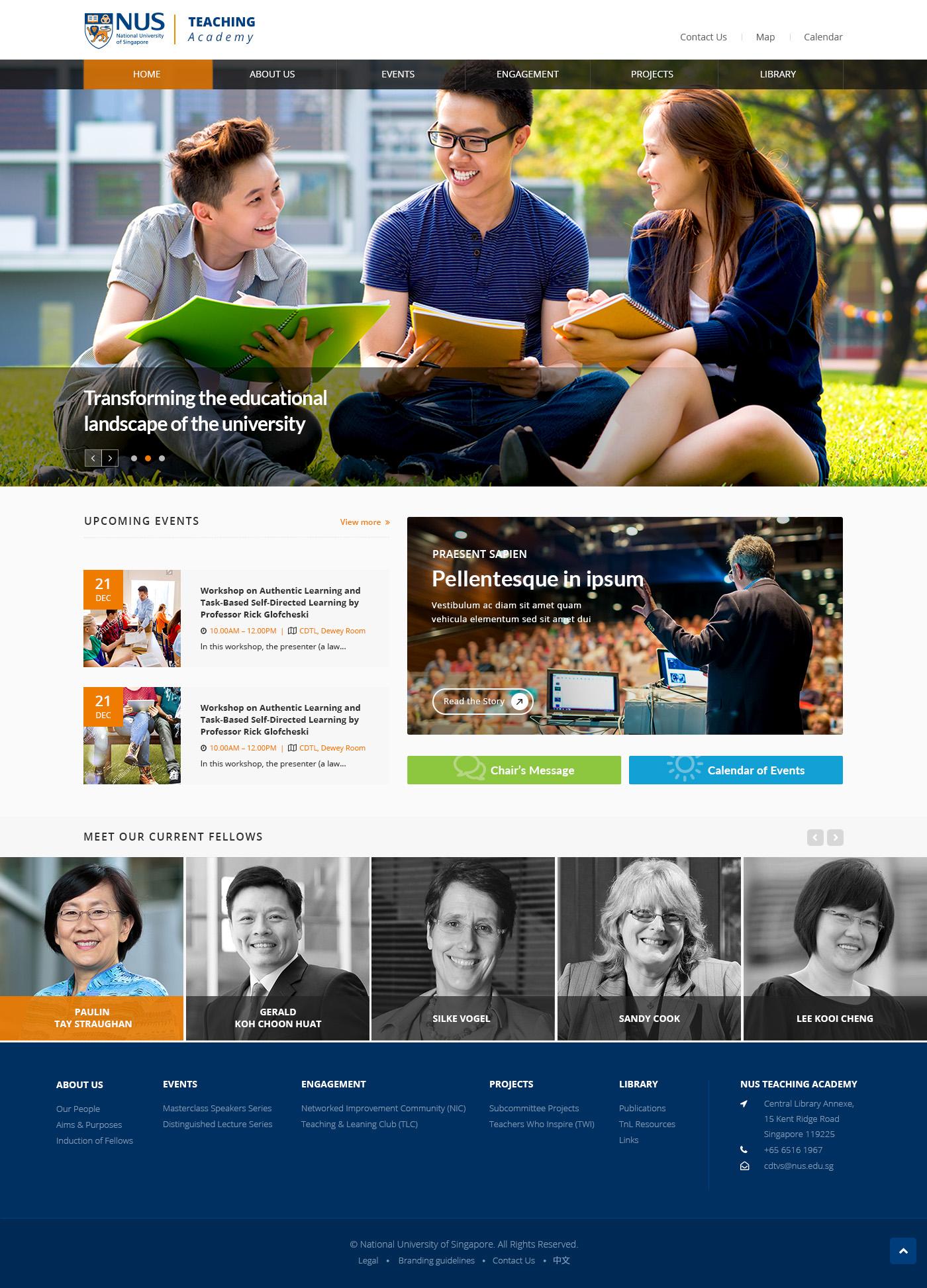 Nus Teaching Academy Web Design Philippines Website Design Web Development Company Web Design Philippines Website Design Web Development Company
