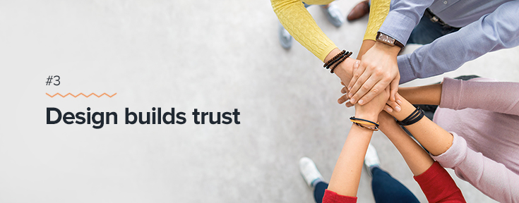 Why is Web Design Important - Design builds trust