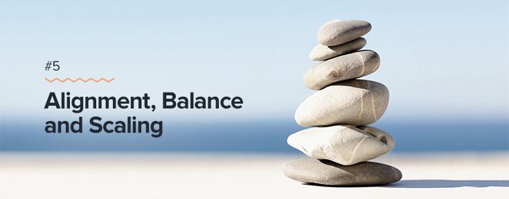 Proximity, Balance, and Scaling