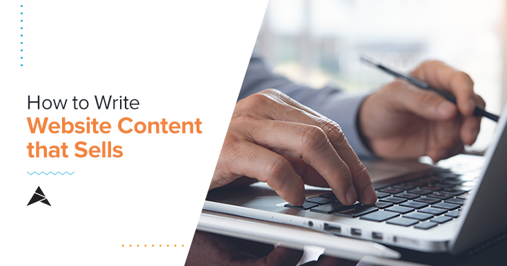 How to Write Website Content that Selss