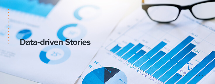Data driven stories blog posts that will boost website traffic