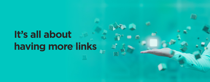 It's all about having more links