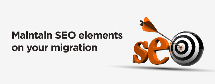 maintain seo elements on your migration