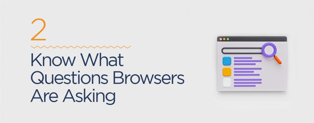 Know what questions browsers are asking to rank as featured snippets on Google